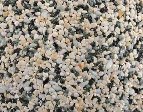 Fertigelement Natursteinteppich als Steinteppich, 50x50cm
