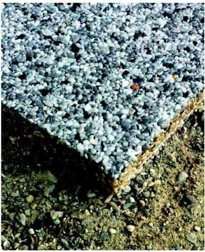 Natursteinteppich Maxi-Platte 50x50x3cm