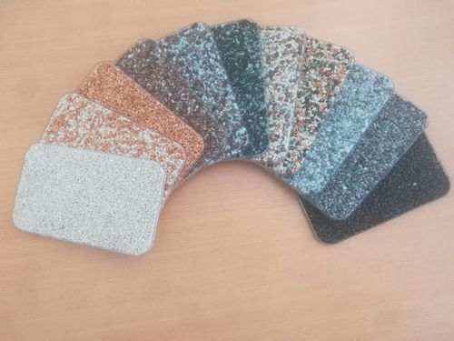 Pattern stone carpet